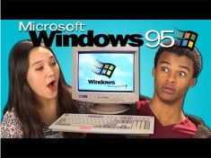 video drole jeune windows 95