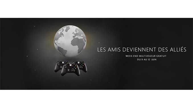 Week-end xbox live gratuit